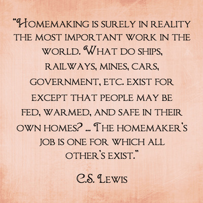 Homemaking...